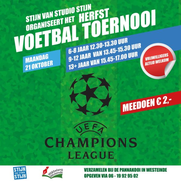 poster voetbal