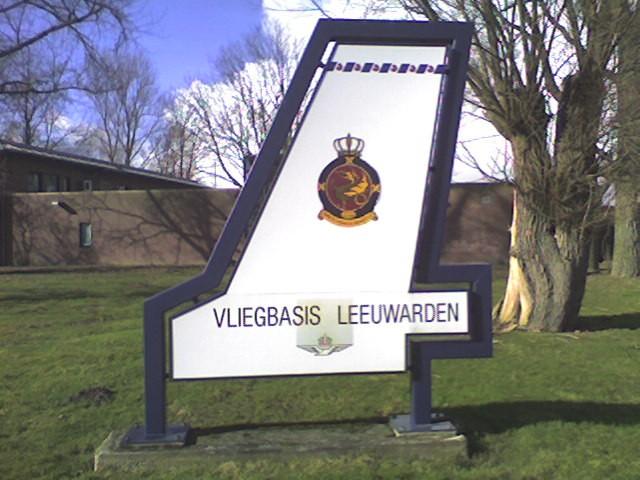 Vliegbasis Leeuwarden Bord