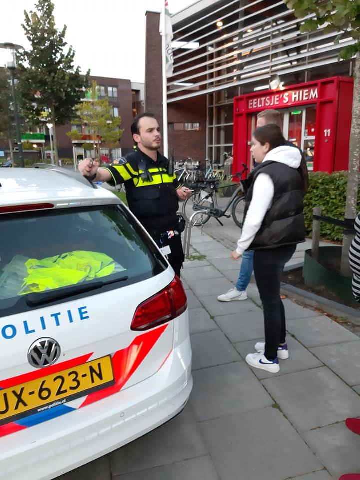 Politie bij Eeltsje's Hiem